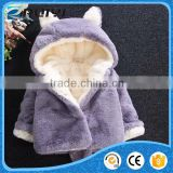 cute baby girl synthetic fur winter outwear coat