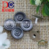 Top Selling Metal Rivet Handbag Custom Button Rivet,Button Decorative for Jeans Wear