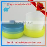 Promotional cheap PP plastic folding cup/foldable cup for travel/telescope cup 50ml pp telescopic cup