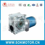 220V 90mm small worm gearbox