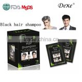 Hair color shampoo wholesale black hair products home use convenient hair color manufacturer
