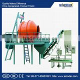 Bulk blending fertilizer equipment/ Organic fertilizer granulator machine for agricultural production