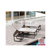 modern Outdoor Rattan Wicker Lounge Chair,Wicker Sunbed,Used Hotel Pool Furniture Sun Lounger