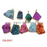 HOT Agate Druzy stones wholesale,Druzy Ring Cabochon,Druzy                                                                         Quality Choice