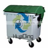 Outdoor garbage bin 1200 Liter industrial plastic trash can with pedal                                                                         Quality Choice                                                                     Supplier's Choice