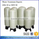 Water Filter Treatment Activated Carbon Block Filter FRP Water Tank