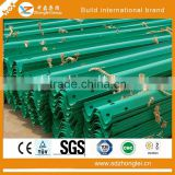 Highway Used Road Safety Guardrail Price Per Meter with Blue and Green Color