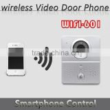 wireless video door phone WIFI doorbell intercom digital camera mobile smartphone control IR night vision wifi 601
