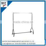 Trolley type metal wire storage racks hanging clothes display racks/wire/china suppliers/new products/round flower box