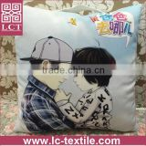2015 best selling custom design available made of supersoft suede fabric digital printing pillow with blanket inside(LCTP0051)