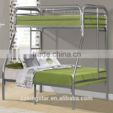 Latest metal bed designs twin full size metal bunk bed