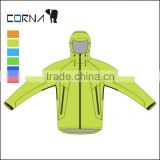 Men's Apple green Wholesale windbreaker Jackets