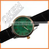 Colorful big face taste WOOD BAMBOO watch