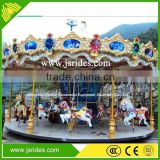 Lowest price buy luxurious carousel for kids amusement ride