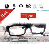 HD 720p Built-in Invisible Lens Eyewear Spy Glasses DVR Camera G3000