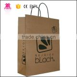 Eco Friendly die cut handle paper bag ,luxury paper shopping bag,Kraft shopping paper bag