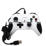Wholesale White USB Game Controller With Vibration Feedback For XBOX One S And Win10 PC