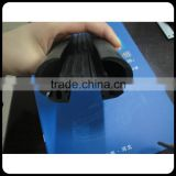 Rubber sealing strip for automatic revolving door sliding door