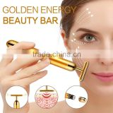 Best-selling and High-quality 24k gold facial beauty bar facial massage for female pure gold