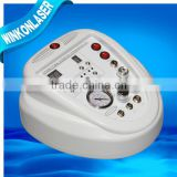 ultrasonic facial machine / portable ultrasonic microdermabrasion machine / photon red blue led light rejuvenation