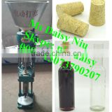 semi-automatic wine stopper capping machine/beer bottle capping machine/glass bottle cork pressing machine