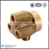 food grade precision metal brass lost wax casting