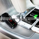 car handsfree calling usb bluetooth fm transmitter