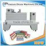 automatic heat tunnel shrink wrapping machine for carton box packing machine(email:millie@jzzhiyou.com)