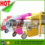 china hot dog vending kitchen electric used mobile food trailer, mobile food cart for sale
