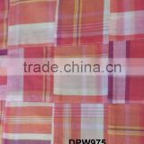 Madras Check Patchwork handmade pure fabrics For Blazer