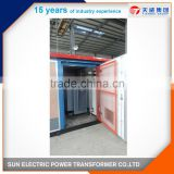 European type 11kv power distribution boxes transformer substation with dry type transformer