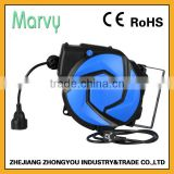flexible auto cable hose reel (E02) 14m 3G1.5mm2 with great price (CE&RoSH approval)