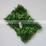 Artificial plants hedge fake plants mat for wall decoration