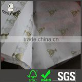 Wrapping 17g 24gsm greaseproof food wrapping tissue paper