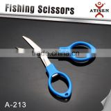 folding Stainless Fishing Scissors For Braid Wire Line and lure