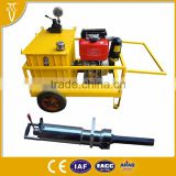 Hydraulic stone splitting machine