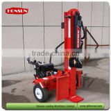 Italy style high capacity Honda gas engine optional CE approved industrial size hydraulic gas wood splitter 50 ton