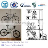 2014 floor-to-ceiling bike work stand/floor-to-ceiling bike stand/bike racks/bicycle holder(TUV,ISO,SGS approved)