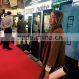 2015 hot sell slim hd touch screen digital signage wayfinding ticket printer touch screen kiosk