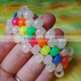 changing colors uv bead in the sun