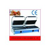Electric sandwich grill maker with non stick hotplate