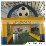 New inflatable football shooting game