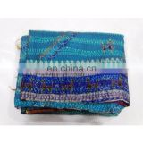Indian Women Wrap Shawls Silk Stole Vintage Reversible Long Dupatta