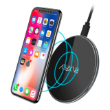 [10W QI Wireless Charger] For iPhone X 8 Plus Fast Charger Pad For Samsung S8 Plus Note 8