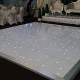 Disco panels wedding star light up starlit portable led dance floor with black and white color for wedding