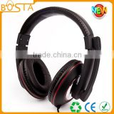 DJ stereo go pro custom finest leather top quality headphones with 50mm speaker