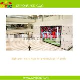 1R1G1B tube chip full color led marketing advertising indoor rental p6 led display module for video