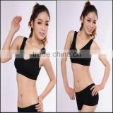 0.83USD Factory High Quality Cheappest Cotton Sexy Women Sport Bra / Many Colours (kcbx018)