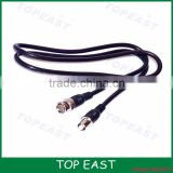 1M Surveillance camera video cable BNC male to female extension cable BNC jumper cable 75-3 RG58 3C-2V