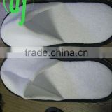 white Custom washable disposable hotel slippers/New Design Hotel Non Woven Disposable Slipper /washable spa slipper